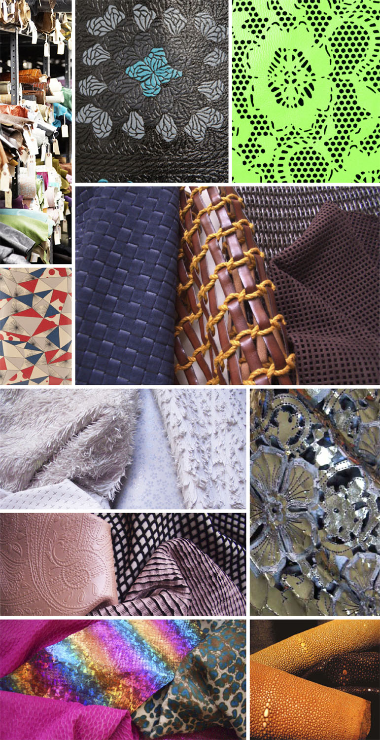 patterned leather post image