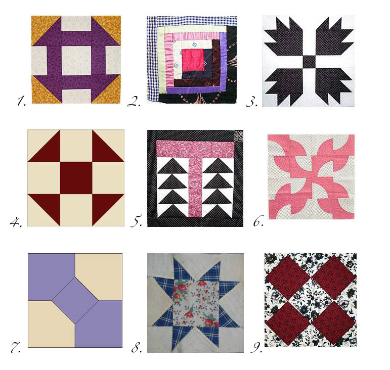 Log Cabin Quilt Square History