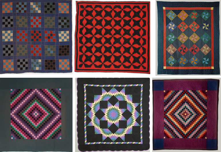 The History of The American Quilt: Amish Quilts