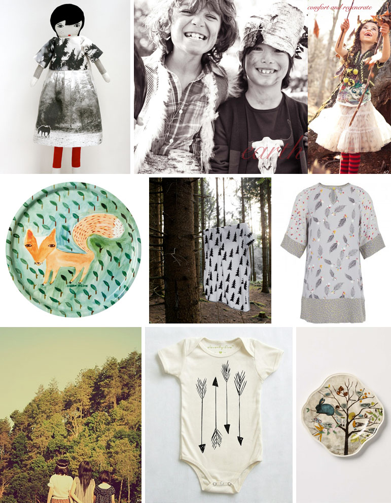 woodland wonders trend board