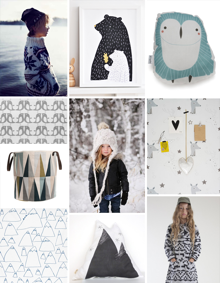 Pattern Observer children's trend - nordic ice