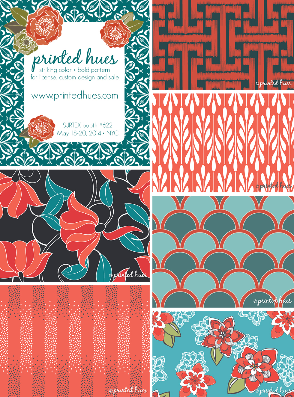 PrintedHues_Surtex