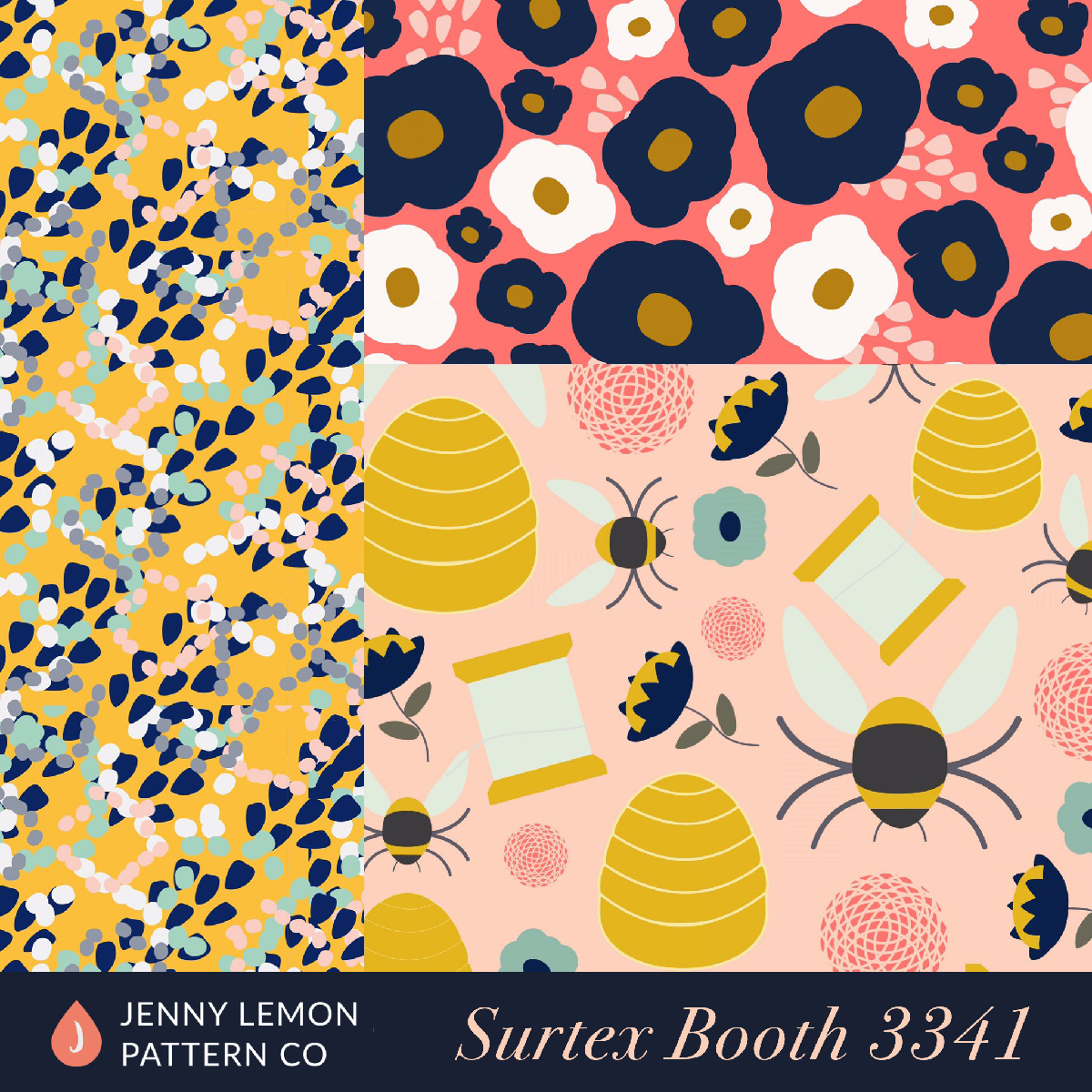 JennyLemon.London_surtex_bees
