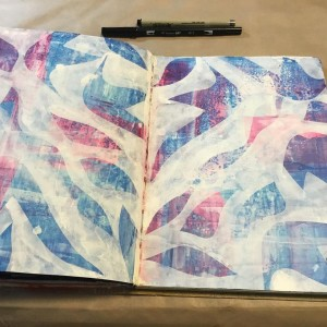 Sketchbook pic by Cathy Cosgrove